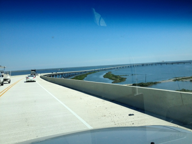 On the way to Grand Isle