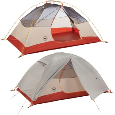 Another Big Agnes, 3 season, double vestibule tent. Removable Fly. Tent has screen above for night watching.