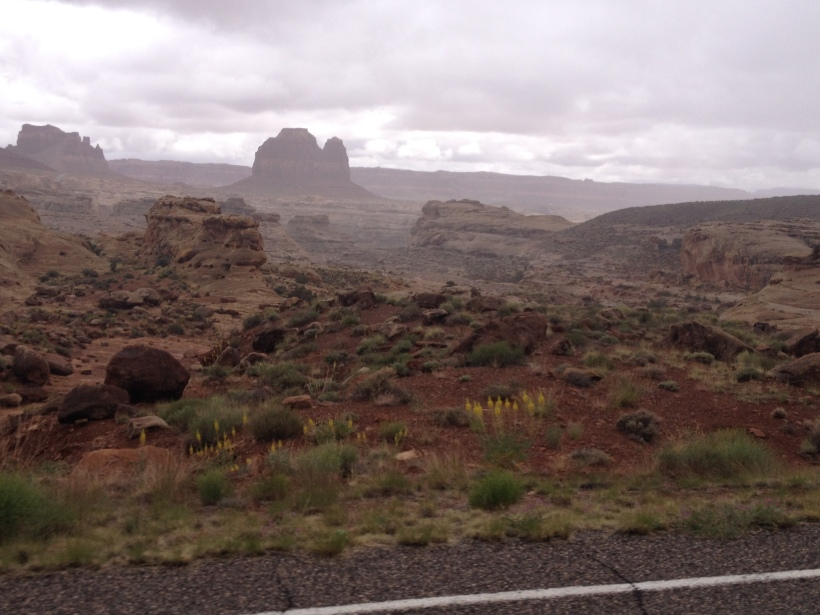 rain falls on Utah, the mist of magic