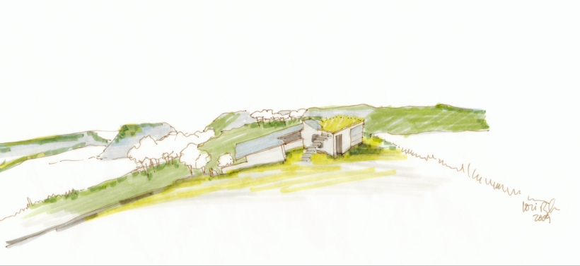 Design Sketch, Click Cabin